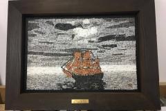 Pirate Ship 34 x 23cm