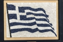 3D Hellenic Flag 19.5 x 28cm